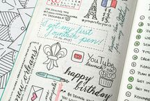 Journal/planner ideas