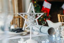 White Christmas Table Decoration Set by styleboxe