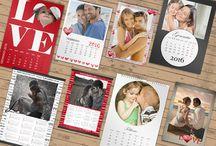 Calendari Personalizzati / Crea il tuo calendario annuale o 12 mesi personalizzato con foto e grafiche originali. Tantissimi formati tra cui scegliere! http://www.fotoregali.com/stampe/calendari