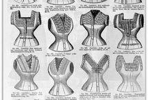 corset, petticoat, etc
