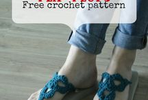 Crochet slippers & sandals