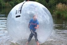 Water Balls / You go inside an airtight ball, the ball fills with air and you are off for a water walking adventure. A challenging and fun activity which is entertaining for spectators and participants alike.