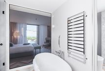 Winter @ JW Marriott Venice Resort & Spa / Thw towel warmer Winter of Scirocco H @ JW Marriott Venice Resort & Spa - Matteo Thun & Partners