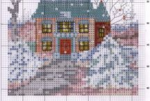 Domčeky, Houses, Häuser