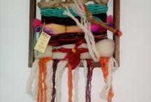 Telares de la memoria / Telares creados con lanas naturales, 100% creados con el alma...