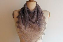 Knit shawls/wraps/capelets/ponchos / by Helen Mahan