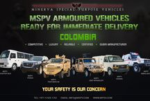 Armored Vehicles Colombia / Armored Vehicles Colombia-MSPV manufacturing of Armored Commercial and Military Vehicles, such as Armored Cars, SUVs, Sedan, Bus, Ambulances, Cash In Transit Vehicles, Armored Personnel Carrier and Armored Patrol Vehicles. MSPV is one of the world's leading supplier of Armoured Vehicles. For more information, contact us at +971 4 425 1761 or draft emails on info@mspv.com or visit http://www.mspv.com