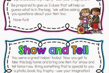 Show and Tell Ideas