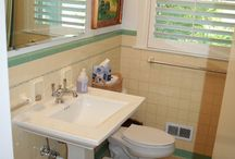 Bathroom Makeover / Fixing the office bathroom / by Katie Riley