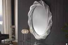 Espejos / Espejos de diseño. Las posibilidades decorativas de nuestros espejos introducen matices capaces de transformar un espacio. Introdúcelo en cualquier sitio y déjate llevar por su misterio.