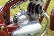 JAWA MOTORSYKKEL
