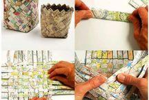 Reciclar papéis