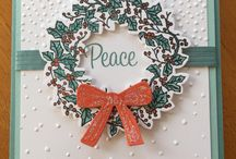 Stampin' Up! Peaceful Wreath