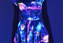 vestidos de galaxia
