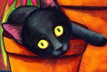 Koty do narysowania 6