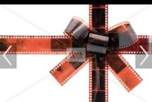 Film bows / Bows made out of 35mm film