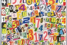 The Number Pi & other Mathematics-related Collages / The Number Pi & other Math Related Collages