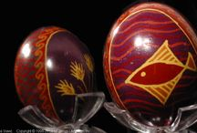 Family Pysanky / These are Pysanky made by members of our family.