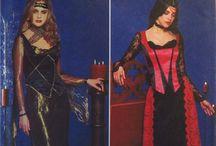 Renaissance & Medieval Sewing Patterns / Sewing patterns with renaissance and medieval flair.