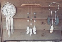 Dream catchers and wall hangings