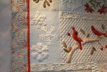 Quilts - Quilting the quilt / by Cindy Peterson