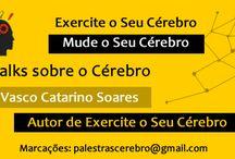 Talks sobre o Cérebro - Vasco Catarino Soares / Palestras sobre o Cérebro. Por: Vasco Catarino Soares Neuropsicólogo e autor do livro Exercite o Seu Cérebro. Adquirir o livro: http://www.vascocatarinosoares.com/livro/