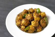 Indian Vegetarian Recipes / Indian vegetarian satvik cuisine (food without the use of onion,garlic and meat)