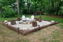 camping or backyard