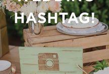 hashtag wedding day