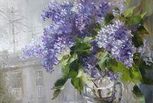 lilaorgona vázában