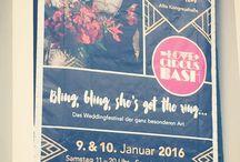 Love circus bash 2016 - Munich / Inspiration from a great wedding fair ♥  Insirationen von einer tollen Hochzeitsmesse