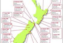 Earthquakes NZ