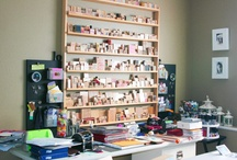 Art/Craft Studio Ideas / For when I actually have one! / by Jessica Vanderloo