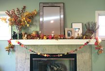Mantel ideas / by Sewfrench