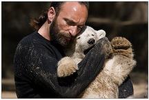 ember és állat