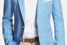 'Jarett' Trim Fit Linen & Wool Blazer by BOSS / A blazer jacket from BOSS at Nordstorm, great for summer.