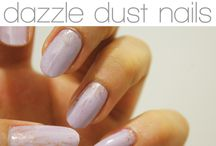 DIY: Dazzle Dust Nails / Save money and design your own nails!