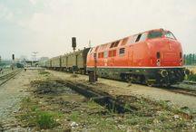 vlaky - Albánie