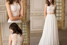 Vestidos de Novia Bohemios · Bohemian Wedding Dresses / Son vestidos de novia ligeros, sueltos y cómodos.