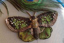 butterfly beaded