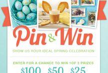 Fancy Flours Spring Pin & Win