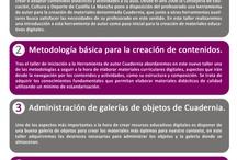 Cuadernia / Herramienta de autor de contenidos digitales educativos de la Junta de Comunidades de Castilla - La Mancha, creado bajo tecnología dobook. Compatible con la Factoria del Tutor.
