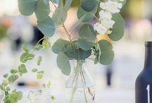 Marsala Greenery Wedding