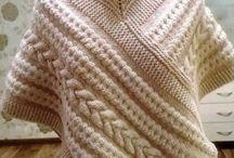 Пончо-шарф