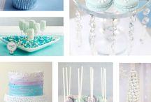frozen elsa cakes
