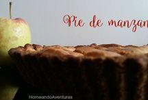 Tartaletas y Pies / Tablero dedicado a las tartaletas y Pies