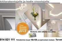 Kipsilista.fi / Kipsitöitä, gypsumworks, covings, plasterworks, plaster