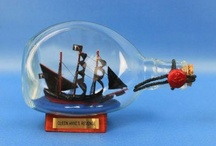 Ship in a Bottle / by Handcrafted Nautical Decor