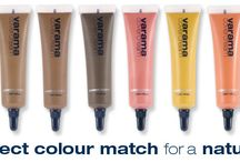 Varama Cover Cream / Create your perfect colour match for a natural skin finish. http://www.varama.co.uk/