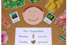 teaching ideas for olivers vegetables